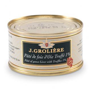 FOIE GRAS GROLIERE - Pâté de Foie d'Oie Truffé 50% Foie Gras - Pâté -