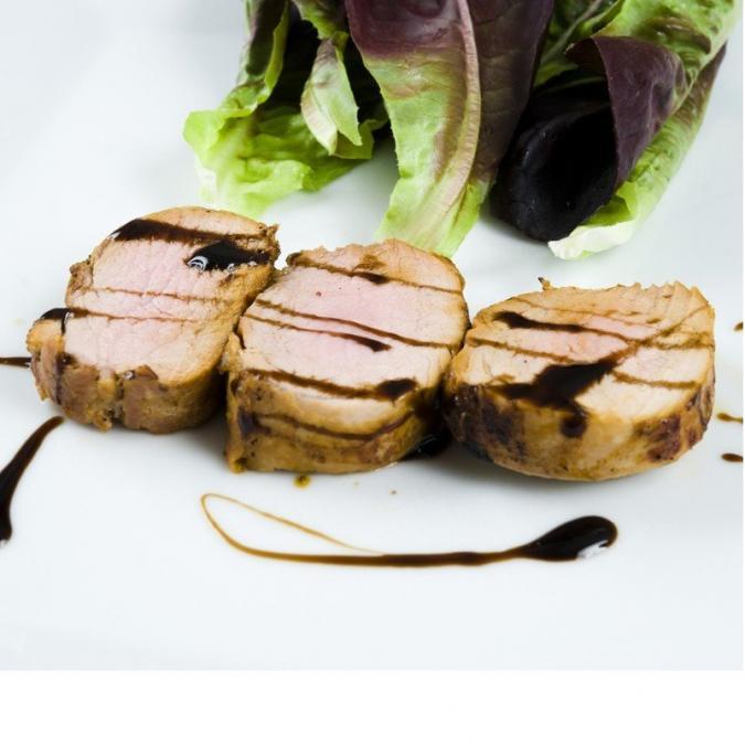 """FOIE GRAS GROLIERE - Rôti de Porc """"Façon Enchaud"""" - rôtis de porc"""