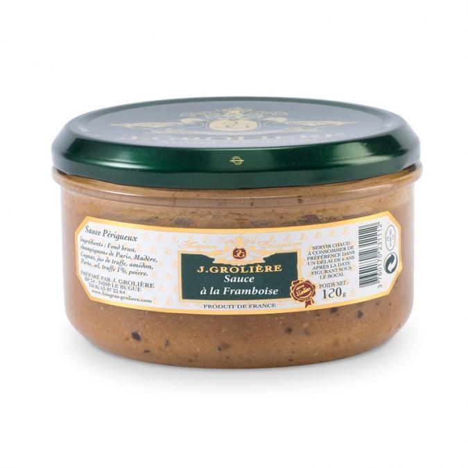 FOIE GRAS GROLIERE - Sauce Framboise et Crème Balsamique - Condiments et sauces - 0.120