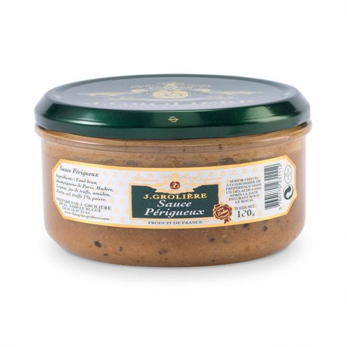 FOIE GRAS GROLIERE - Sauce Périgueux - Condiments et sauces - 0.120