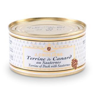 FOIE GRAS GROLIERE - Terrine de Canard au Sauternes - Terrine