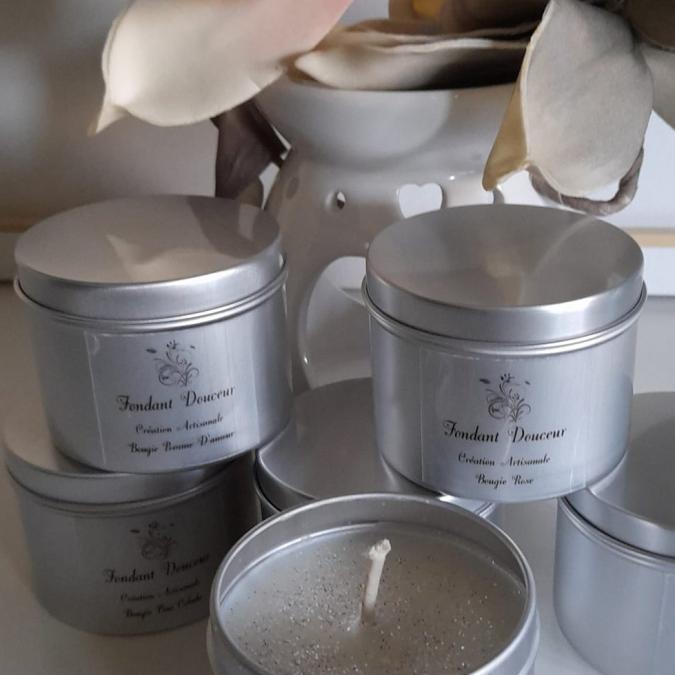 Fondant Douceur - Bougie Parfumée - cire de soja