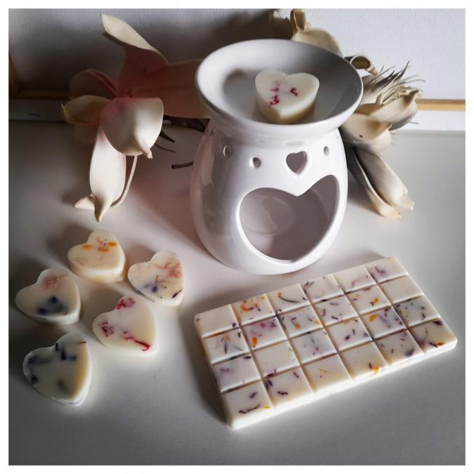 Fondant Douceur - Fondant Parfumé à l'unité Tablette chocolat - cire de soja