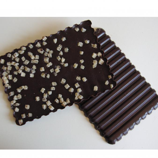FRIGOULETTE - Tablette chocolat noir gingembre confit - Chocolat