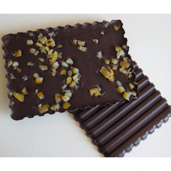 FRIGOULETTE - Tablette chocolat noir Nougatine - Chocolat