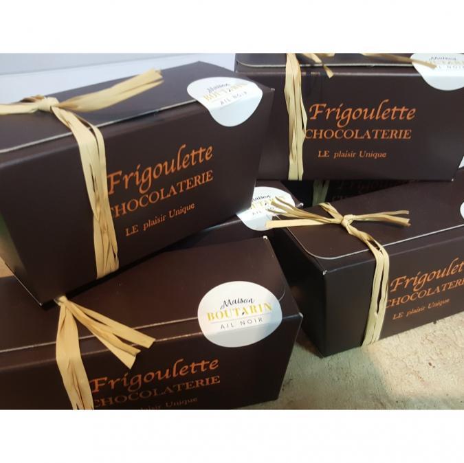 FRIGOULETTE - Truffes à l'Ail Noir - Chocolat