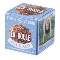 Funky Veggie - La Boule - Noix de coco - Biscuit et gâteau individuel - 0,023
