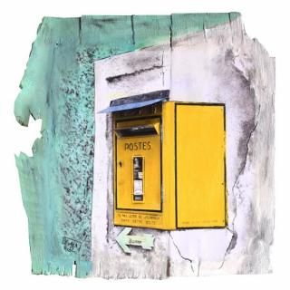 Gaia duRivau - La poste - Tableau