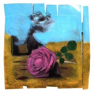 Gaia duRivau - La rose - Tableau