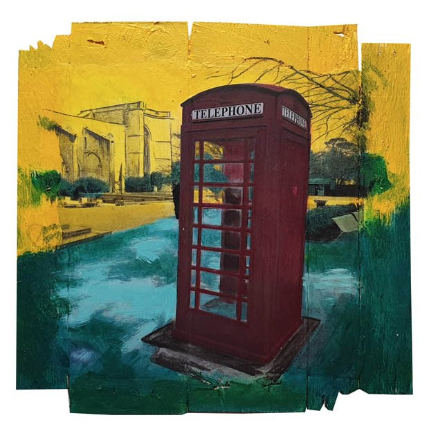 Gaia duRivau - Le téléphone rouge - Tableau