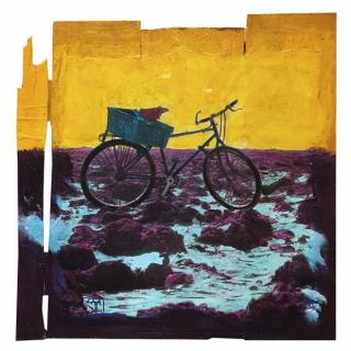 Gaia duRivau - Le vélo du bord de mer - Tableau