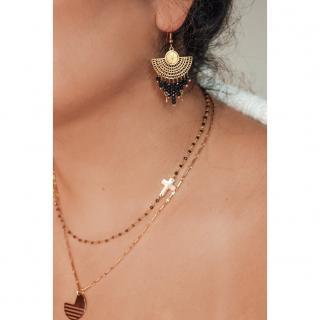 Ginandger Bijoux - Boucles d'oreilles Ivanna - Boucles d'oreille - Acier