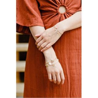 GISEL B - BRACELET KATE - Bracelet - Plaqué Or