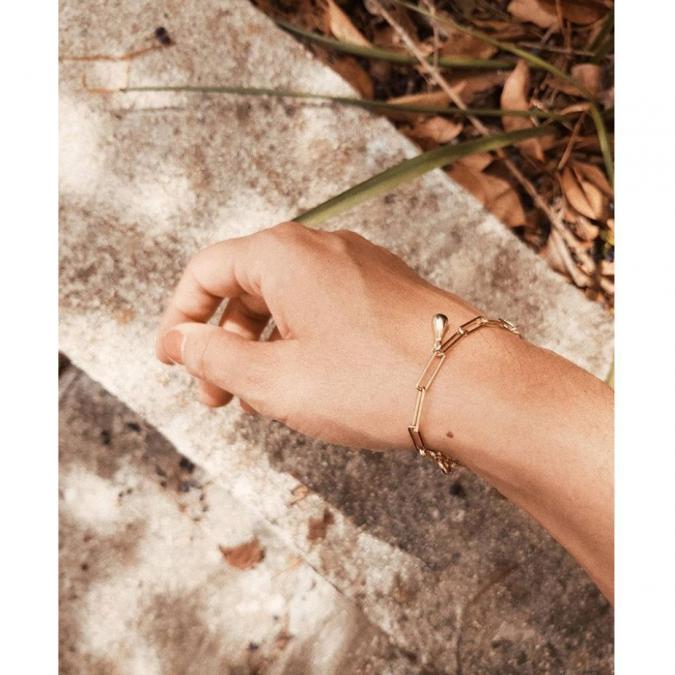 GISEL B - BRACELET OPALE - Bracelet - Or