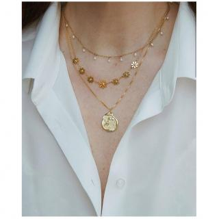 GISEL B - COLLIER DIANA - Collier - Plaqué Or