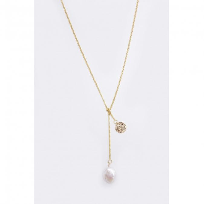 GISEL B - COLLIER LONG KATE - Collier - Plaqué Or