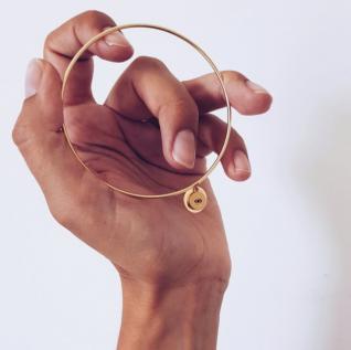 GISEL B - Jonc Janis - Bracelet - Plaqué Or