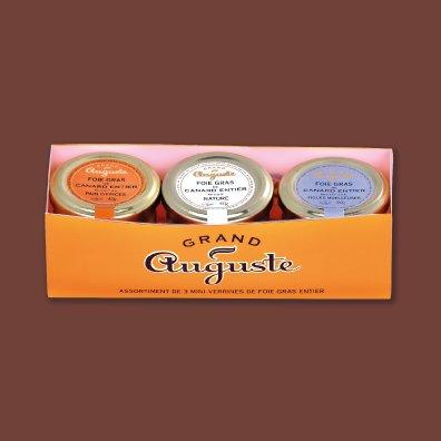 Grand Auguste - Coffret dégustation - Foie gras - 120g