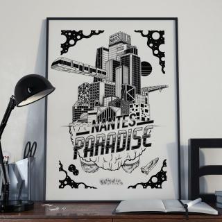 HAMETISM - Nantes Paradise - Dessin, illustration -