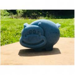 Hello my bio - Savon bout'chou Hippopotame Bleu - Savon - 0.080
