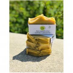 Hello my bio - Savon saponifié à froid : Citron camomille - Savon - 0,110