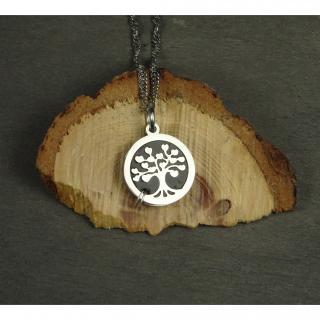 Histoire de bijoux - Collier arbre de vie diffuseur d'huiles essentielles - Diffuseur d'huile essentielle
