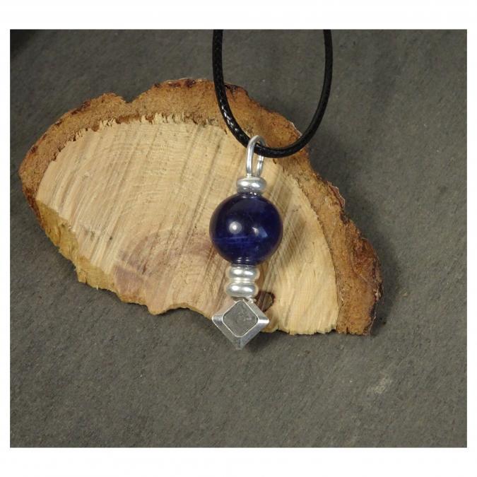 Histoire de bijoux - Collier Totem (pendentif en argent) - collier femme artisanal