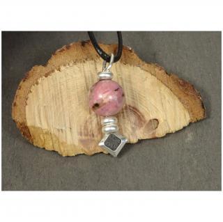 Histoire de bijoux - Collier Totem (pendentif en argent) - Diffuseur d'huile essentielle