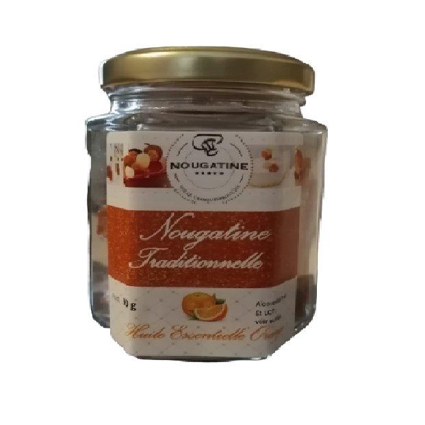 Idéal Croquembouche - Carrés de nougatine orange - Confiserie