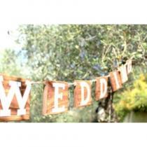 In The Wood For Love - Guirlande en palette WEDDING - Guirlande (décoration)