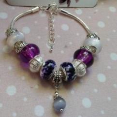 """Catherine LEDOUX - Bracelet charms """"le pouvoir féerique """" - Bracelet - Acier"""
