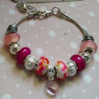 """Inspirations-créatives - Bracelet charms """"Les bonbons """" - Bracelet - argent"""
