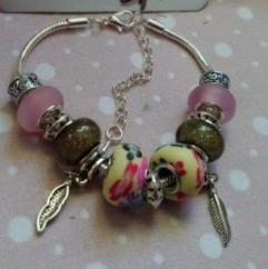 """Catherine LEDOUX - Bracelet charms """"par un matin d automne"""" - Bracelet - Acier"""