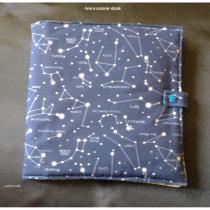 Isadebrouille - Livre a colorier lavable étoile - livre à colorier réutilisable