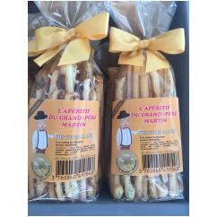 J'M Les Délices - Biscuits salés au Munster saveur mirabelle - Apéritif et biscuits salés - 0.050