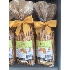 J'M Les Délices - Biscuits salés Chèvre miel - Apéritif et biscuits salés - 0.050