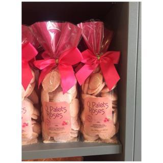 J'M Les Délices - O Palets au rose - Biscuit et gâteau individuel - 0.100