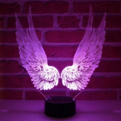 JNB-Maker Artisan Laseriste - Lampe Led Ailes d'Ange - Lampe de table - 4668ampoule(s)