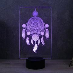 JNB-Maker Artisan Laseriste - Lampe Led Attrape Rêves - Lampe de table - 4668ampoule(s)