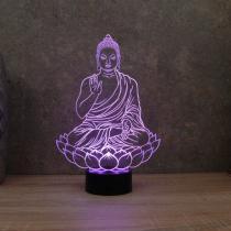 JNB-Maker Artisan Laseriste - Lampe Led Buddha - Lampe de table - 4668ampoule(s)