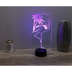 JNB-Maker Artisan Laseriste - Lampe Led Flamant Rose - Lampe de table - 4668ampoule(s)