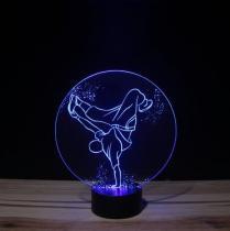 JNB-Maker Artisan Laseriste - Lampe Led Hip Hop - Lampe de table - 4668ampoule(s)