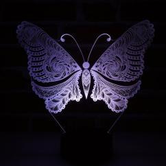 JNB-Maker Artisan Laseriste - Lampe Led Papillon - Lampe de table - 4668ampoule(s)