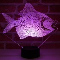 JNB-Maker Artisan Laseriste - Lampe Led Poisson - Lampe de table - 4668ampoule(s)
