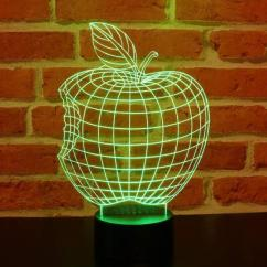 JNB-Maker Artisan Laseriste - Lampe Led Pomme 3D - Lampe de table - 4668ampoule(s)