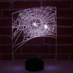 JNB-Maker Artisan Laseriste - Lampe Led Toile d'Araignée - Lampe de table - 4668ampoule(s)