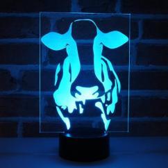 JNB-Maker Artisan Laseriste - Lampe Led Vache - Lampe de table - 4668ampoule(s)