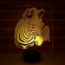 JNB-Maker Artisan Laseriste - Lampe Led Zèbre - Lampe de table - 4668ampoule(s)