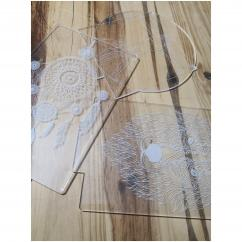 JNB-Maker Artisan Laseriste - Plaque seule - Lampe de table - 4668ampoule(s)
