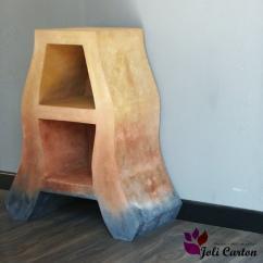 Joli Carton - Arabesque - Table de chevet